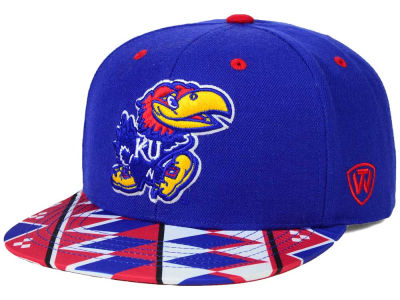 Kansas Jayhawks Top of the World NCAA Tribe Snapback Cap