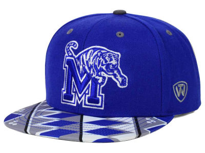 Memphis Tigers Top of the World NCAA Tribe Snapback Cap