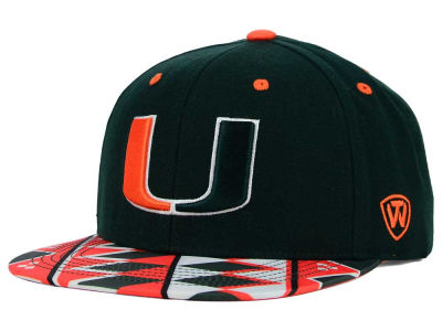 Miami Hurricanes Top of the World NCAA Tribe Snapback Cap