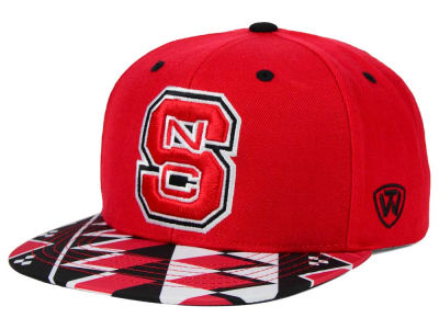 North Carolina State Wolfpack Top of the World NCAA Tribe Snapback Cap
