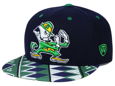 Notre Dame Fighting Irish Top of the World NCAA Tribe Snapback Cap