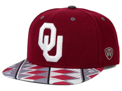 Oklahoma Sooners Top of the World NCAA Tribe Snapback Cap