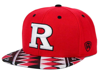 Rutgers Scarlet Knights Top of the World NCAA Tribe Snapback Cap