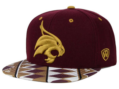 Texas State Bobcats Top of the World NCAA Tribe Snapback Cap