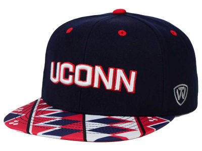 Connecticut Huskies Top of the World NCAA Tribe Snapback Cap