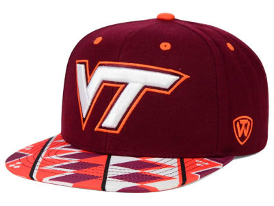 Virginia Tech Hokies Top of the World NCAA Tribe Snapback Cap