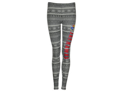Kansas Jayhawks NCAA Women's Comeback Tribal Leggings