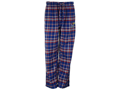 Kansas Jayhawks NCAA Men's Bleacher Plaid Flannel Pants
