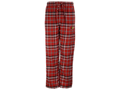 Louisville Cardinals NCAA Men's Bleacher Plaid Flannel Pants