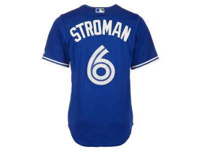 Toronto Blue Jays Marcus Stroman Majestic MLB Men's Player Replica Cool Base Jersey