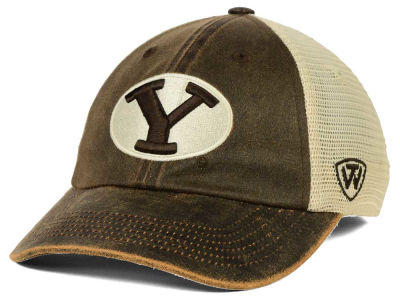 Brigham Young Cougars Top of the World NCAA Scat Mesh Cap