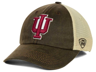 Indiana Hoosiers Top of the World NCAA Scat Mesh Cap