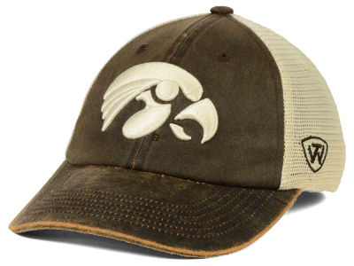 Iowa Hawkeyes Top of the World NCAA Scat Mesh Cap