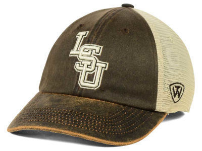 LSU Tigers Top of the World NCAA Scat Mesh Cap