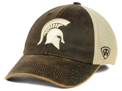 Michigan State Spartans Top of the World NCAA Scat Mesh Cap