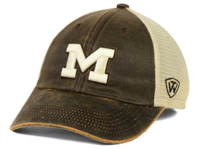 Michigan Wolverines Top of the World NCAA Scat Mesh Cap