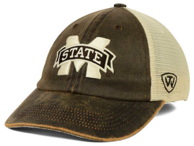 Mississippi State Bulldogs Top of the World NCAA Scat Mesh Cap