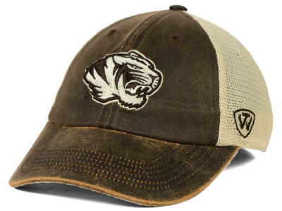 Missouri Tigers Top of the World NCAA Scat Mesh Cap