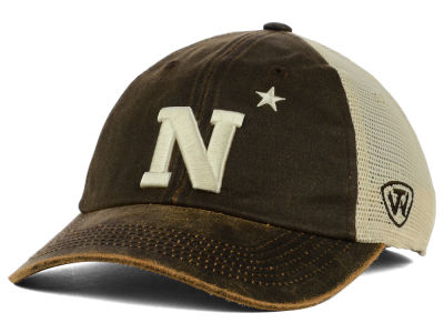 Navy Midshipmen Top of the World NCAA Scat Mesh Cap