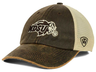North Dakota State Bison Top of the World NCAA Scat Mesh Cap