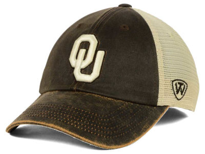 Oklahoma Sooners Top of the World NCAA Scat Mesh Cap