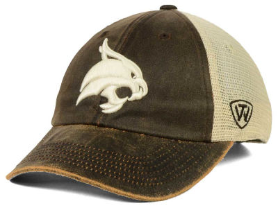 Texas State Bobcats Top of the World NCAA Scat Mesh Cap