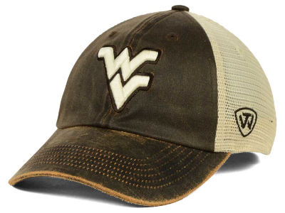 West Virginia Mountaineers Top of the World NCAA Scat Mesh Cap