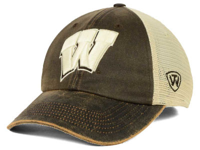 Wisconsin Badgers Top of the World NCAA Scat Mesh Cap