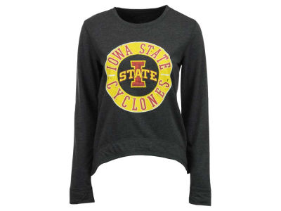 Iowa State Cyclones NCAA Women's Home Field Long Sleeve Crew Fleece Sweatshirt