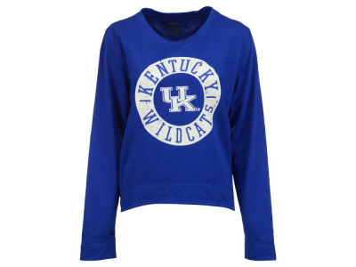 Kentucky Wildcats NCAA Women's Home Field Long Sleeve Crew Fleece Sweatshirt