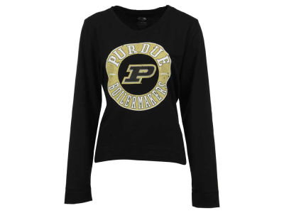 Purdue Boilermakers NCAA Women's Home Field Long Sleeve Crew Fleece Sweatshirt