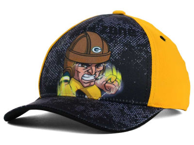 Green Bay Packers Outerstuff NFL Youth Rush Zone Adjustable Cap