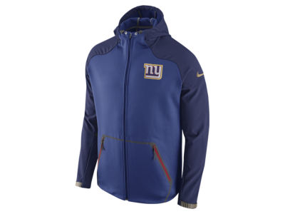 New York Giants Nike NFL Men's Champ Drive Sideline Hyperspeed Sphere Jacket