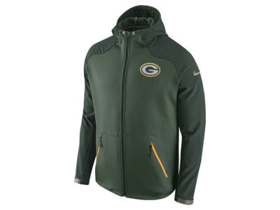 Green Bay Packers Nike NFL Men's Champ Drive Sideline Hyperspeed Sphere Jacket