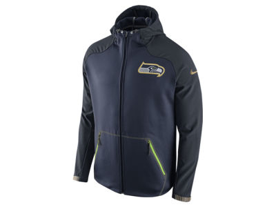 Seattle Seahawks Nike NFL Men's Champ Drive Sideline Hyperspeed Sphere Jacket