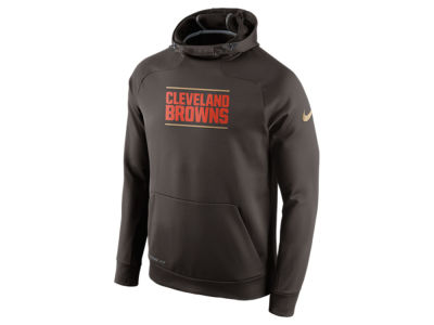 Cleveland Browns Nike NFL Men's Champ Drive Sideline Hyperspeed Hoodie