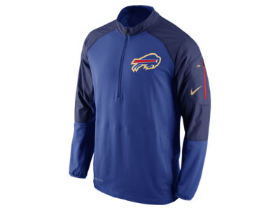 Buffalo Bills Nike NFL Men's Champ Drive Sideline Hybrid 1/4 Zip Pullover Jacket