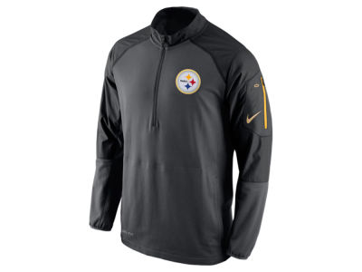 Pittsburgh Steelers Nike NFL Men's Champ Drive Sideline Hybrid 1/4 Zip Pullover Jacket