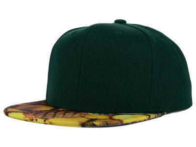 Top of the World July Pineapple Printed Visor Snapback Hat