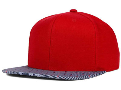 Top of the World Stars & Stripes Printed Visor Snapback Hat
