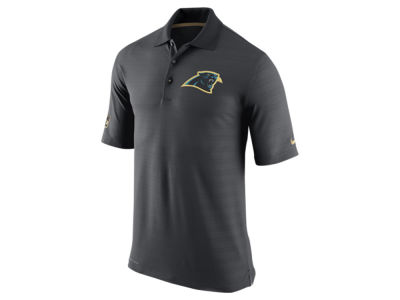 Carolina Panthers Nike NFL Men's Champ Drive Sideline Polo Shirt