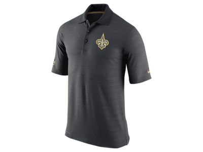 New Orleans Saints Nike NFL Men's Champ Drive Sideline Polo Shirt
