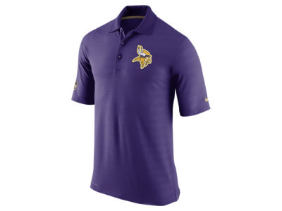 Minnesota Vikings Nike NFL Men's Champ Drive Sideline Polo Shirt