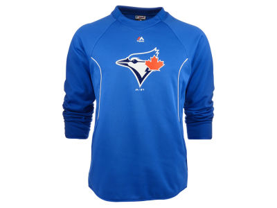 Toronto Blue Jays Majestic MLB Men's Tech Pullover Fleece Sweatshirt