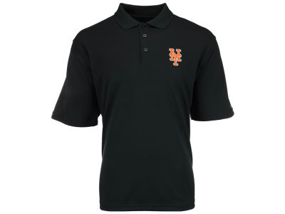 New York Mets MLB Men's Pique Extra Lite Polo Shirt