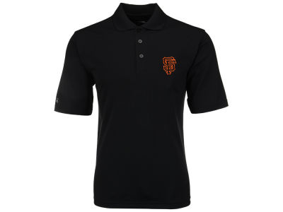 San Francisco Giants MLB Men's Pique Extra Lite Polo Shirt