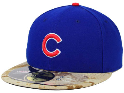 Chicago Cubs New Era MLB 2015 Memorial Day Stars and Stripes 59FIFTY Cap