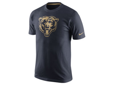 Chicago Bears Nike NFL Men's Champ Drive Sideline Dri-Fit Cotton T-Shirt
