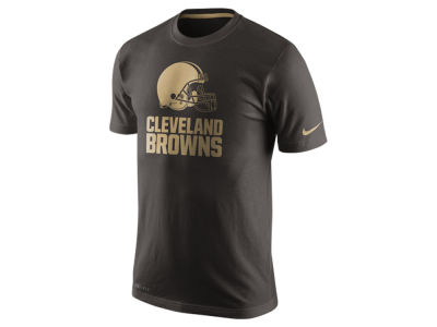 Cleveland Browns Nike NFL Men's Champ Drive Sideline Dri-Fit Cotton T-Shirt