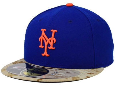 New York Mets New Era MLB 2015 Memorial Day Stars and Stripes 59FIFTY Cap